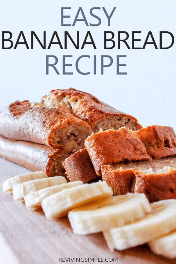 Easy Banana Bread Recipe